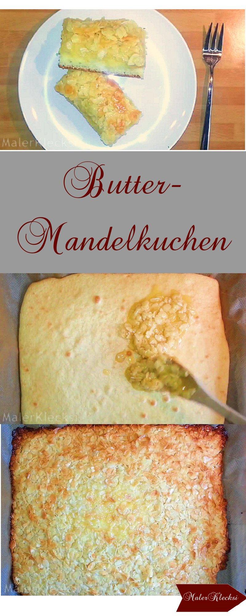 Butter-Mandel-Kuchen
