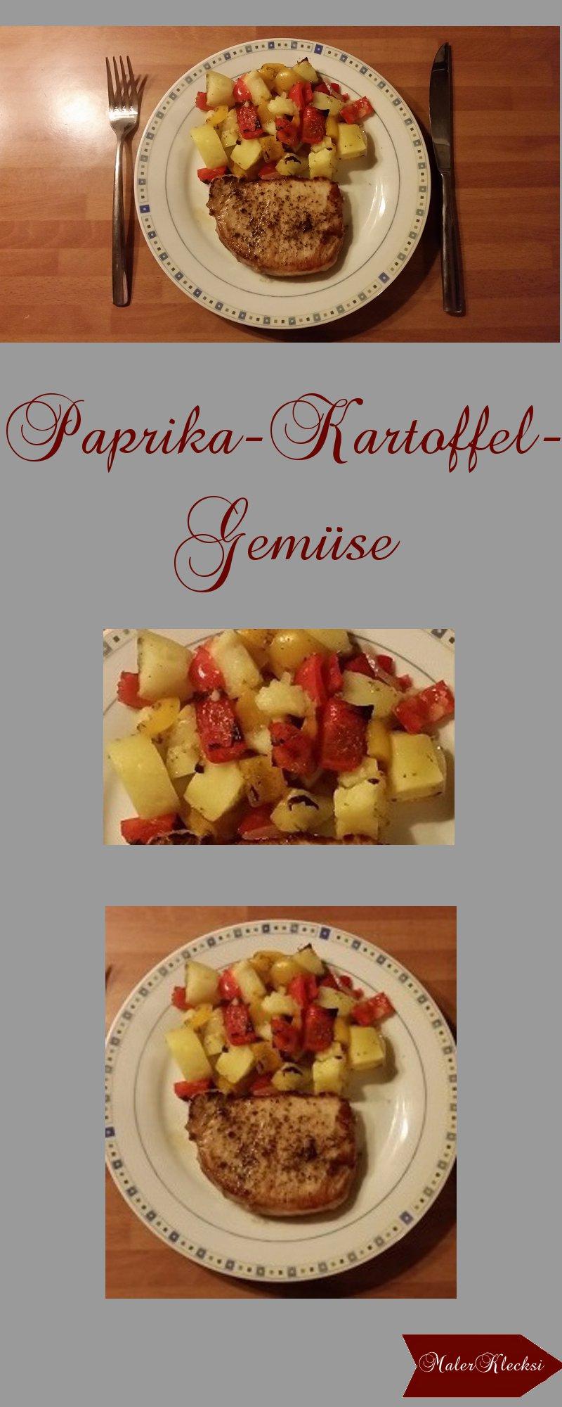 Paprika-Kartoffel-Gemuese
