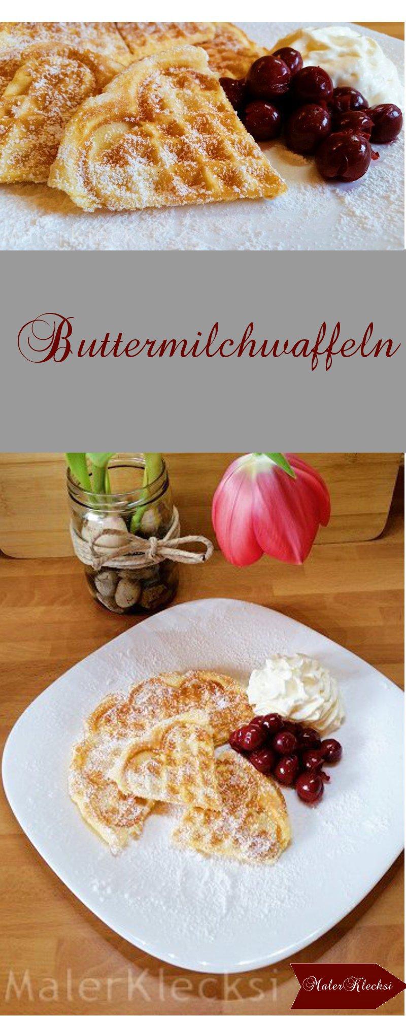 Buttermilchwaffeln