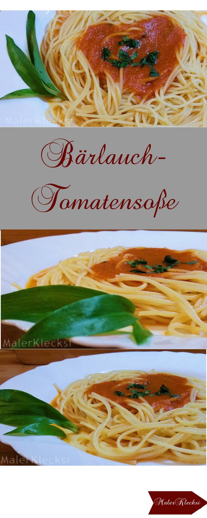 Baerlauch-Tomatensosse