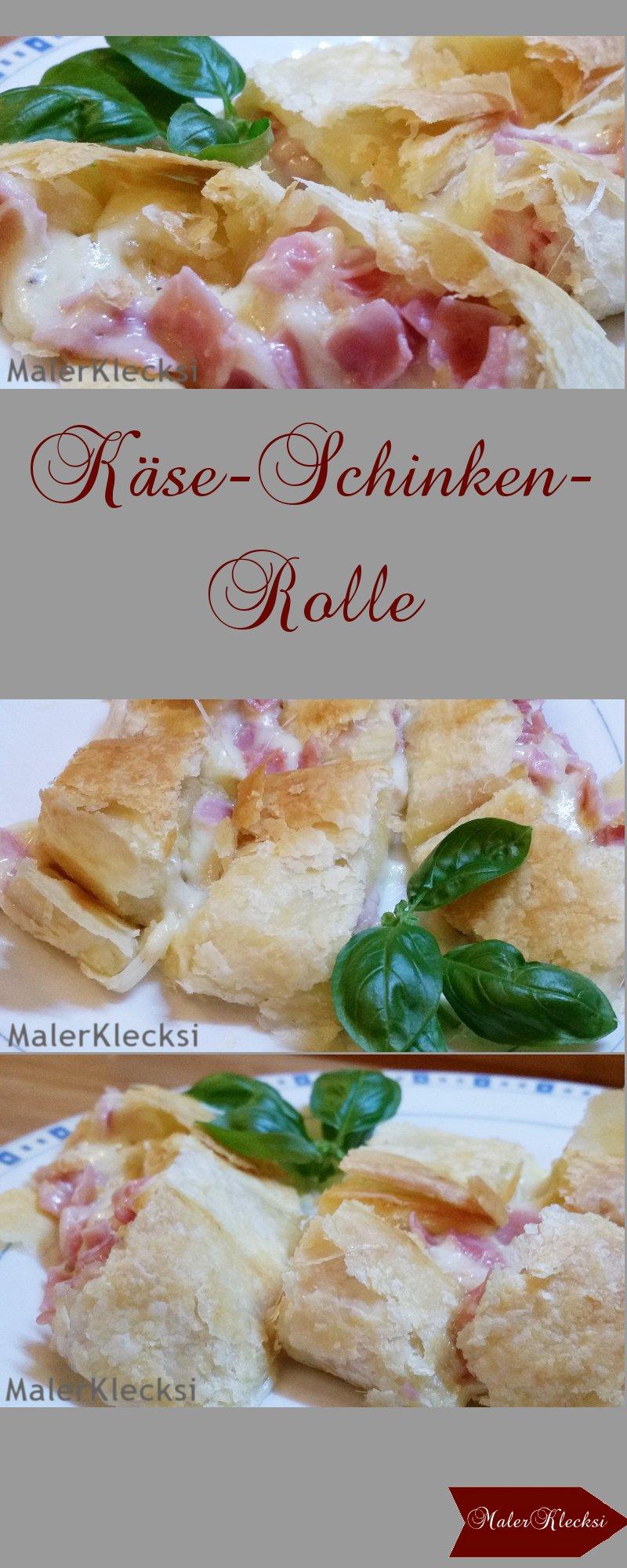 Käse-Schinken-Rolle