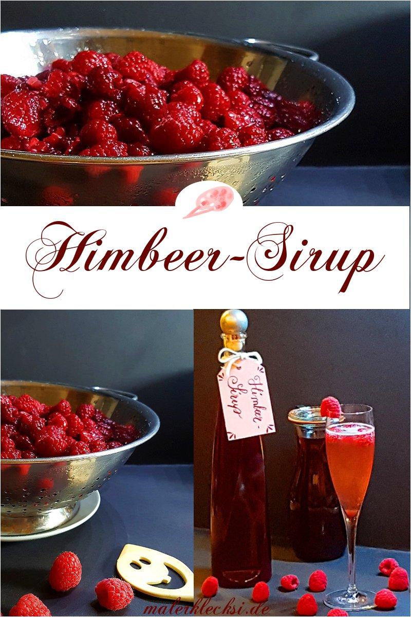 Himbeer-Sirup