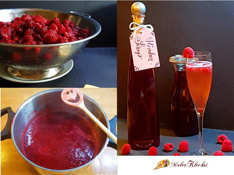 Himbeer-Sirup ganz einfach