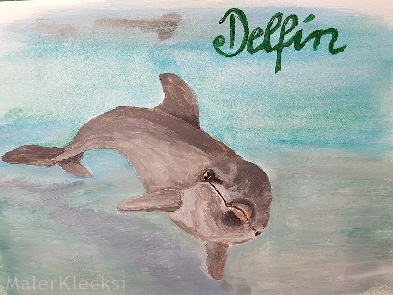 Tier-ABC Delfin fertig