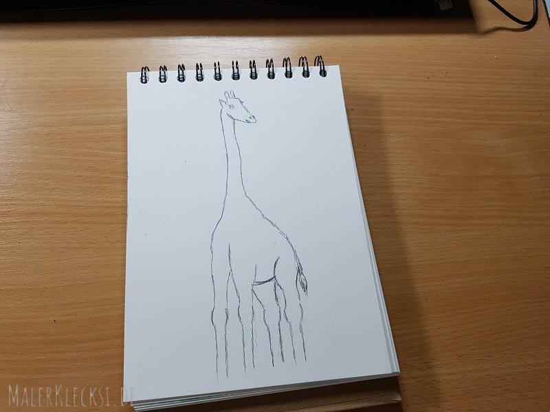 Mitmach-Aktion Tier-ABC -G- Giraffe