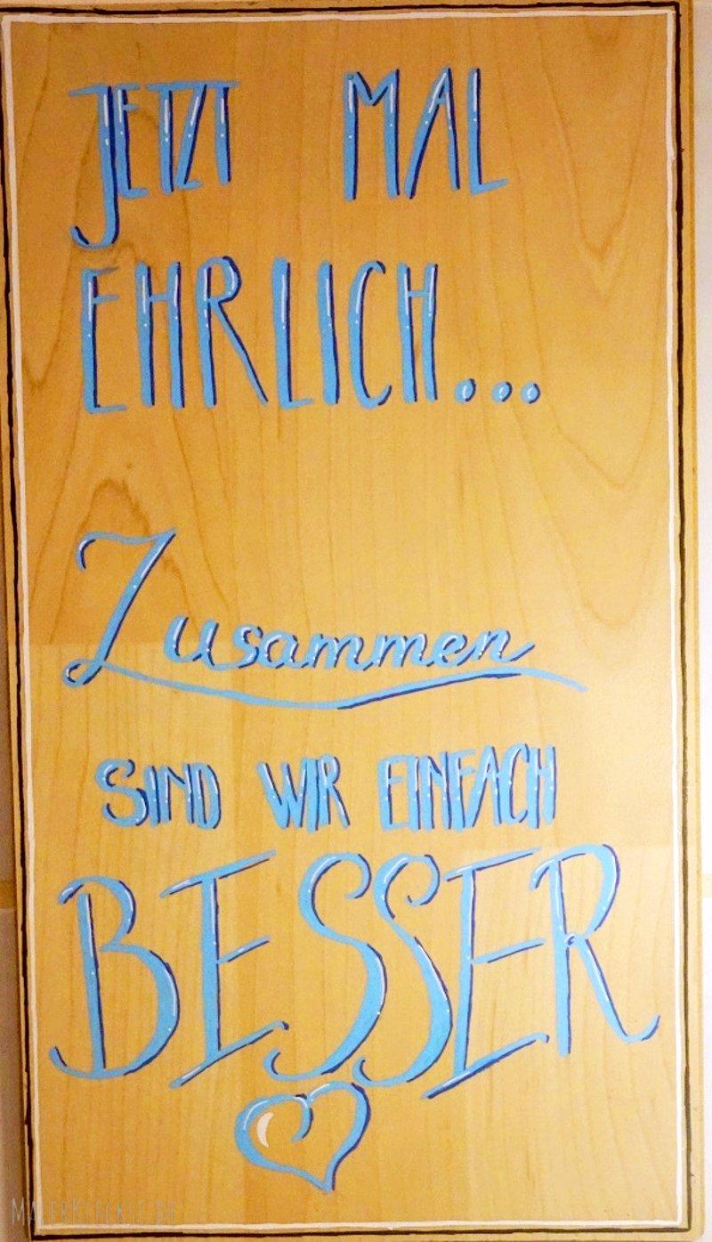 Laminat Upcycling, DIY für ein tolles Holzschild.