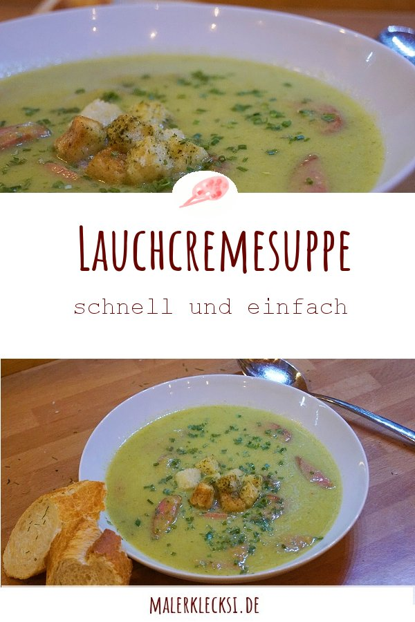 Schnell mal eine leckere Suppe? Mit diesem Rezept für die Lauchcremesuppe kein Problem.