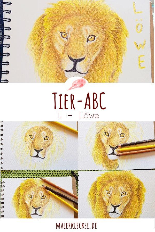 Mitmach-Aktion Tier-ABC der Löwe ist an der Reihe.