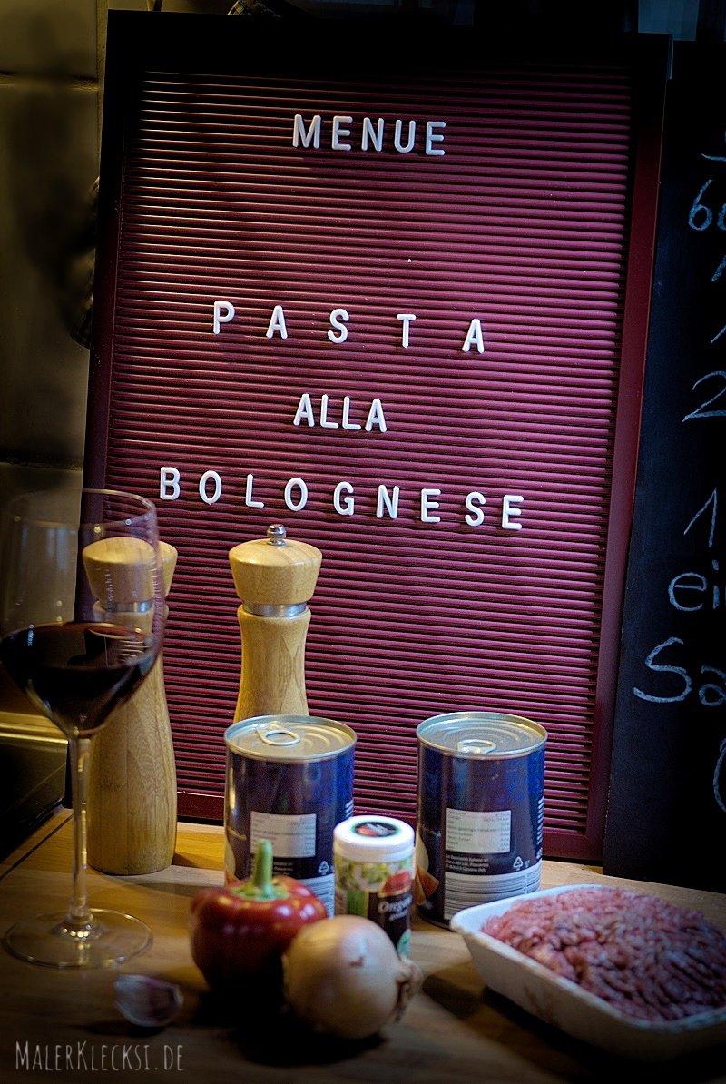 ein Bolognese Rezept für die schnelle Küche.